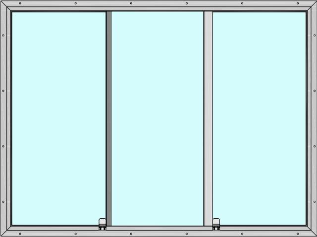 Three Panel Slider